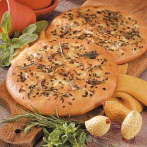 Herbed Onion Focaccia Recipe