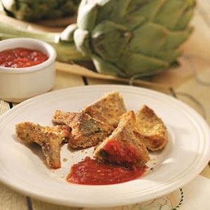 Artichoke Hearts Romano Recipe