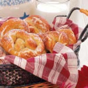 Soft Giant Pretzels Recipe