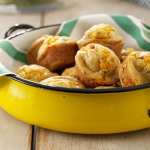 Herb & Sun-Dried Tomato Muffins Recipe