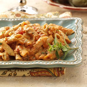 Four-Cheese Baked Penne Recipe