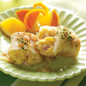 Ham & Cheese Breakfast Strudels Recipe