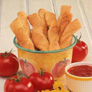 Garlic Parmesan Breadsticks Recipe