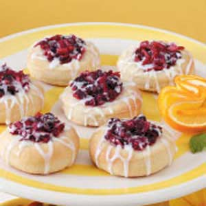 Cranberry Kolaches Recipe