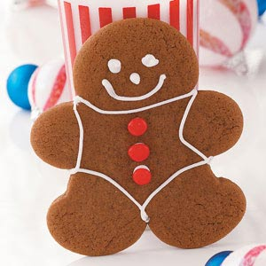 Chocolate Gingerbread Cookies Recipe