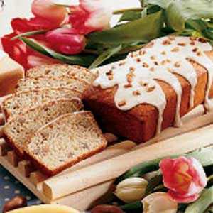 Southern Banana Nut Bread Recipe
