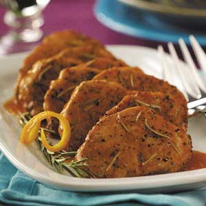 Pork Medallions in Orange Sauce Recipe