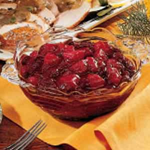 Cranberry Pear Chutney Recipe