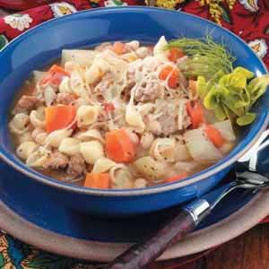 Tomato Sausage Stew Recipe