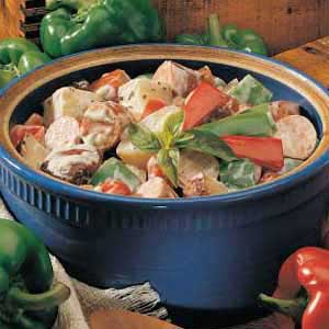 Creamy Sausage Stew Recipe