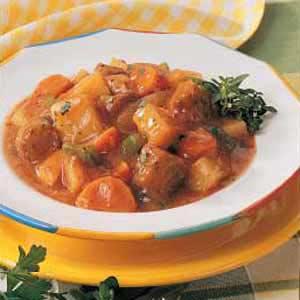 Homemade Italian Sausage Stew Recipe