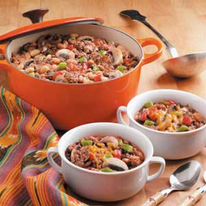 Zippy Three-Bean Chili Recipe
