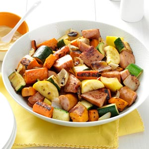 Roasted Kielbasa & Vegetables Recipe