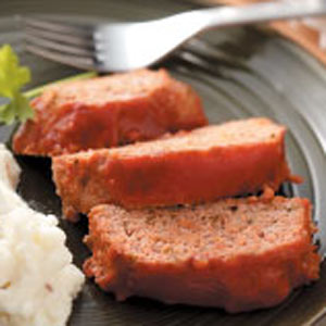 Sweet and Sour Turkey Meat Loaf Recipe