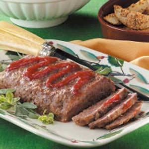 Flavorful Meat Loaf Recipe