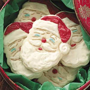 Santa Claus Cutouts Recipe