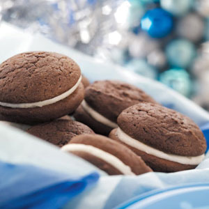 Sam's Chocolate Sandwich Cookies Recipe