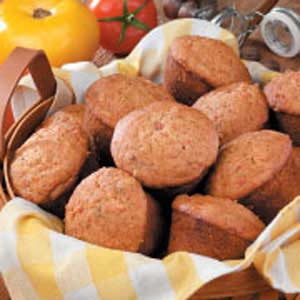Tomato Spice Muffins Recipe