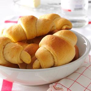 Sweet Potato Crescents Recipe