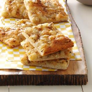 Swiss & Caraway Flatbreads Recipe