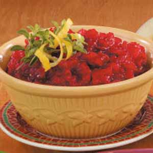 Cinnamon Cran-Applesauce Recipe