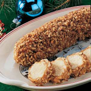 Holiday Pecan Logs Recipe