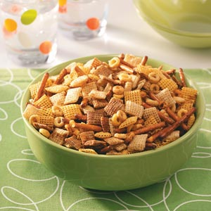 Healthy Party Snack Mix Recipe