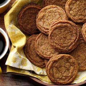 Old-Fashioned Gingersnaps Recipe