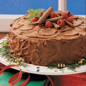 Chocolate Cake with Sour Cream Recipe