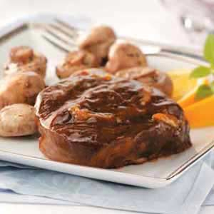 Glazed Beef Tournedos Recipe