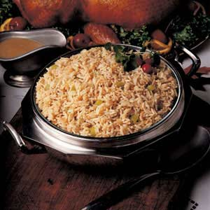 Zesty Herbed Rice Pilaf Recipe