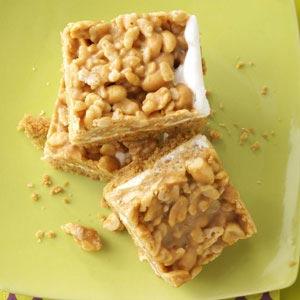 Salted Peanut Bars Recipe