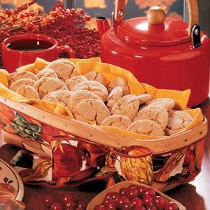Cinnamon Crackle Cookies Recipe