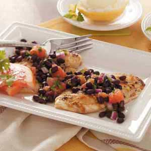 Tilapia with Grapefruit Salsa Recipe