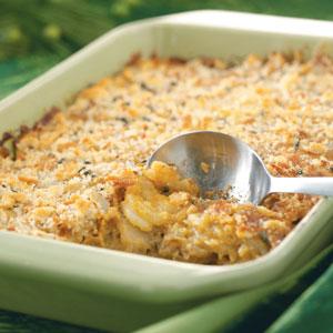 Crunchy Au Gratin Potatoes Recipe