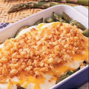 Asparagus Onion Casserole Recipe