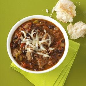 Chipotle-Black Bean Chili Recipe