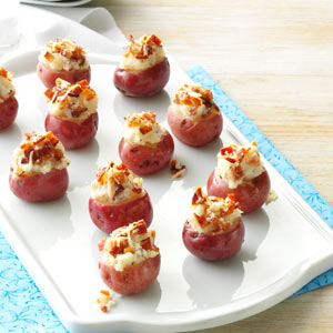 Stuffed Baby Red Potatoes Recipe