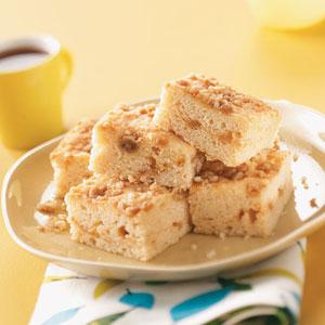 Light Sour Cream Coffee Cake Recipe