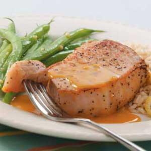Orange Pork Chops Recipe