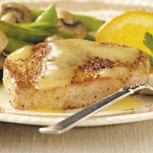 Pork Chops in Orange Sauce Recipe