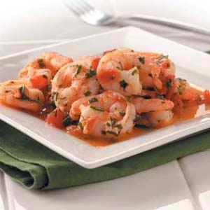 Shrimp in Herbs Recipe