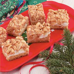 Peanut Mallow Bars Recipe