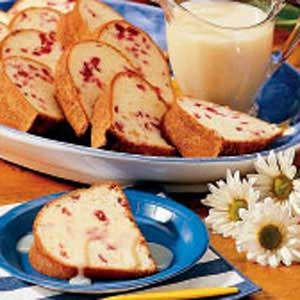 Cranberry-Orange Pound Cake Recipe