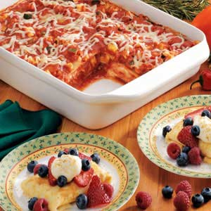 Meatless Lasagna Recipe