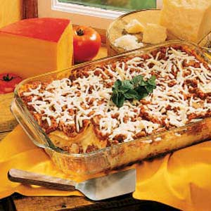 Four-Cheese Lasagna Recipe