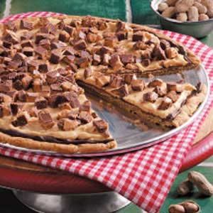 Triple Peanut Pizza Recipe