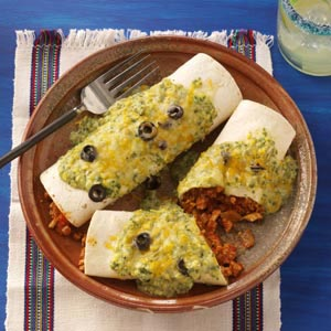 Terrific Turkey Enchiladas Recipe