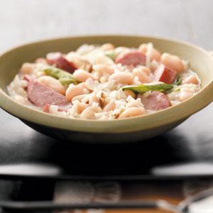 Sausage & Rice Stew Recipe