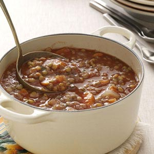 Lentil-Tomato Soup Recipe